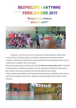 zobacz więcej... - Zespół Szkół im. Jana Pawła II w Świdnicy