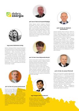 Lista ekspertów