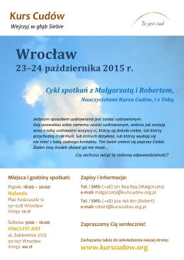 Wrocław - kurscudow.org.pl