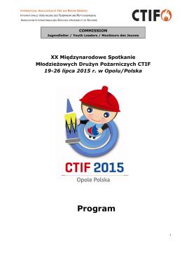 Program - CTIF 2015
