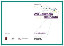 Wizualizacja dla nauki 18 września 2015 r.