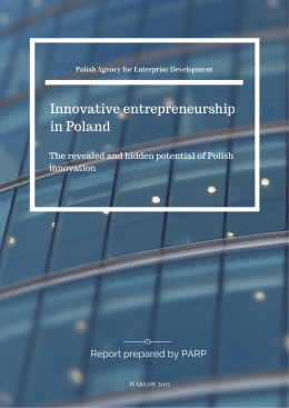 Innovative entrepreneurship in Poland