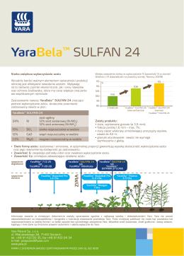YaraBela™ SULFAN 24
