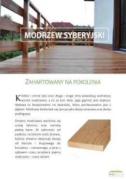 Karta produktu - DeskaTarasowa.com