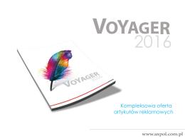 Oferta na katalog Voyager 2016