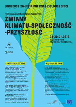 Plakat Przegląd Filmowy PZS