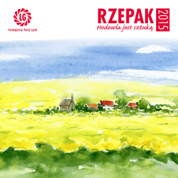 "Katalog ""Rzepak 2015"" - Limagrain Central Europe"