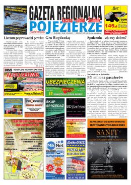 Reklama - Gazeta Regionalna POJEZIERZE