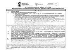 PT.2370.2.2015 OPIS Przedmiotu zamówienia – załącznik nr 1 do