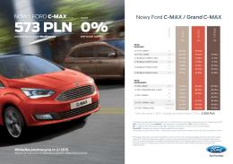 Pobierz cennik promocyjny Forda C-Max