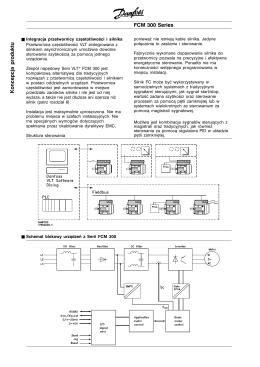 FCM 300 Series Koncepcja produktu