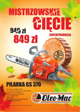 Jesienne promocje Oleo-Mac