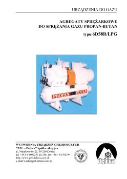 agregat 6D58R/LPG
