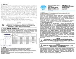 Dokumentacja techniczno-ruchowa - PL RFV - BUD-WENT