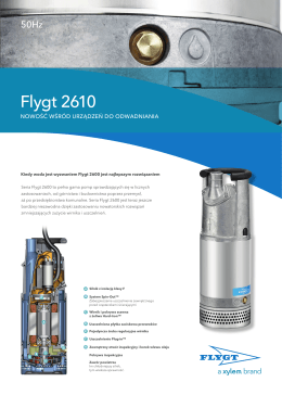 Flygt 2610 - Water Solutions