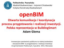 openBIM i BuildingSmart