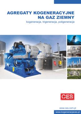 Kogeneracja na Gaz Ziemny - Centrum Elektroniki Stosowanej