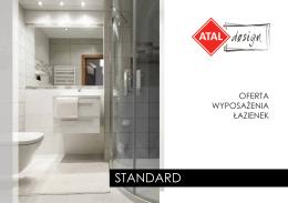 Oferta wyposażenia łazienek Standard
