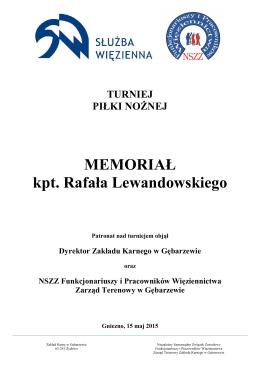 Memoriał kpt. Rafała Lewandowskiego