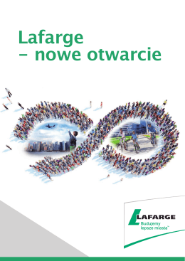 Lafarge - nowe otwarcie