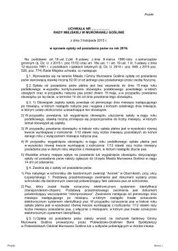 Projekt nr 20 - Miasta i Gminy Murowana Goślina