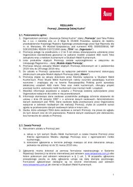 regulamin-promocji-Gwarancja Dobrej Kuchni - przedłużenie