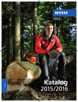 Katalog pilarza - WALDECK Akcesoria Leśne
