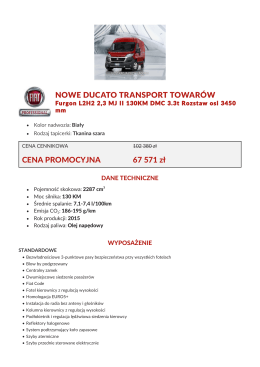 Wydrukuj ofertę - Fiat Professional