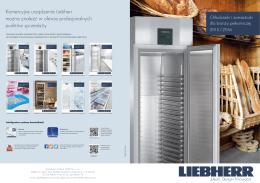 Komercyjne urządzenia Liebherr można znaleźć w ofercie