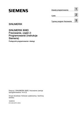Programowanie (instrukcje Siemens)