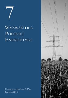 wyzwań dla polskiej energetyki