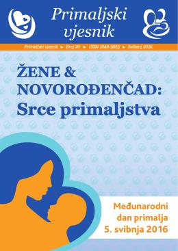 Primaljski vjesnik br. 20 - Hrvatska Komora Primalja