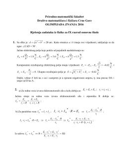 Prirodno-matematički fakultet Društvo matematičara i fizičara Crne