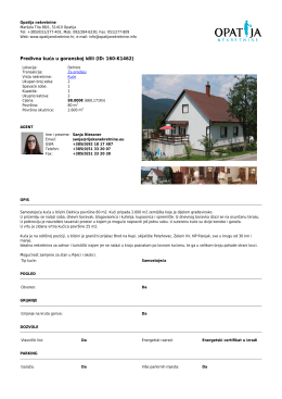 Predivna kuća u goranskoj idili (ID: 160-K1462)