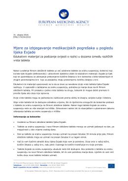 EXJADE, INN-deferasirox - European Medicines Agency