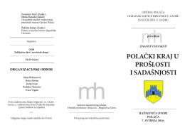 Polacki kraj PROGRAM - ogranak matice hrvatske u zadru