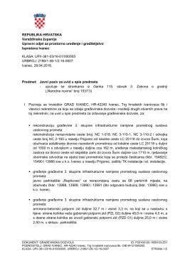 Preuzmite javni poziv - Varaždinska županija