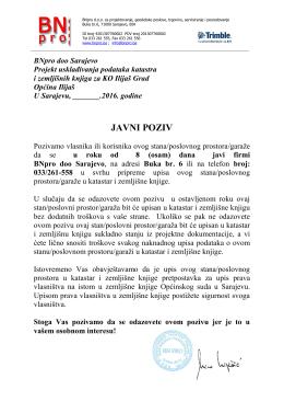Ilijaš - BNpro