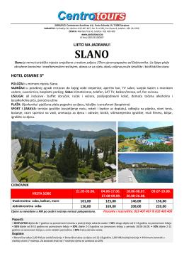 Slano - Centrotours