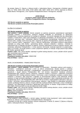 Na temelju članka 21. Zakona o državnoj službi u institucijama