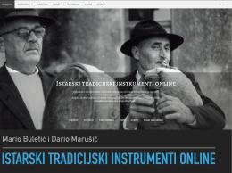 Istarski tradicijski instrumenti online