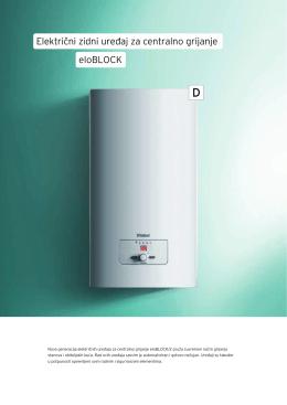 Električni zidni ure aj za centralno grijanje eloBLOCK