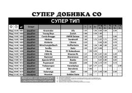 СУПЕР ТИП - Sport Life