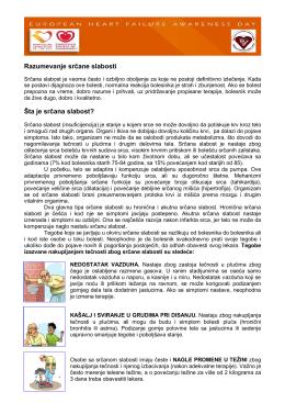 preuzmite brošuru - Evropski Dan Srčane Slabosti