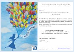 """""""Decenija radosti"""", likovna izložba, Sarajevo, 28"""