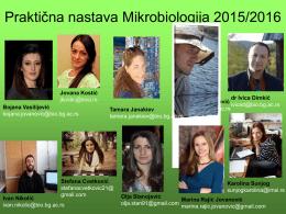 1. Posmatranje mikroskopskih preparata 2016