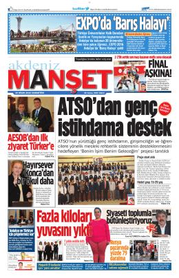 EXPO`da `Barış Halayı` - Antalya Haber - Haberler