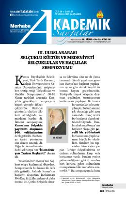 Cilt-16, Sayı-14, 27 Nisan 2016