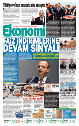 28 nisan2016 - Ekonomi Gazetesi