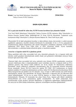 BTK Başkanı Dr.Ömer Fatih Sayan - Bilgi Teknolojileri ve İletişim